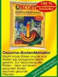 Oscorna-BodenAktivator 25 kg Packung