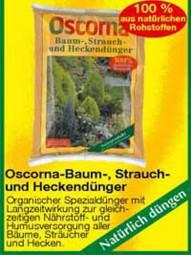 Oscorna-Baum-, Strauch- und Heckendünger 10 kg Packung